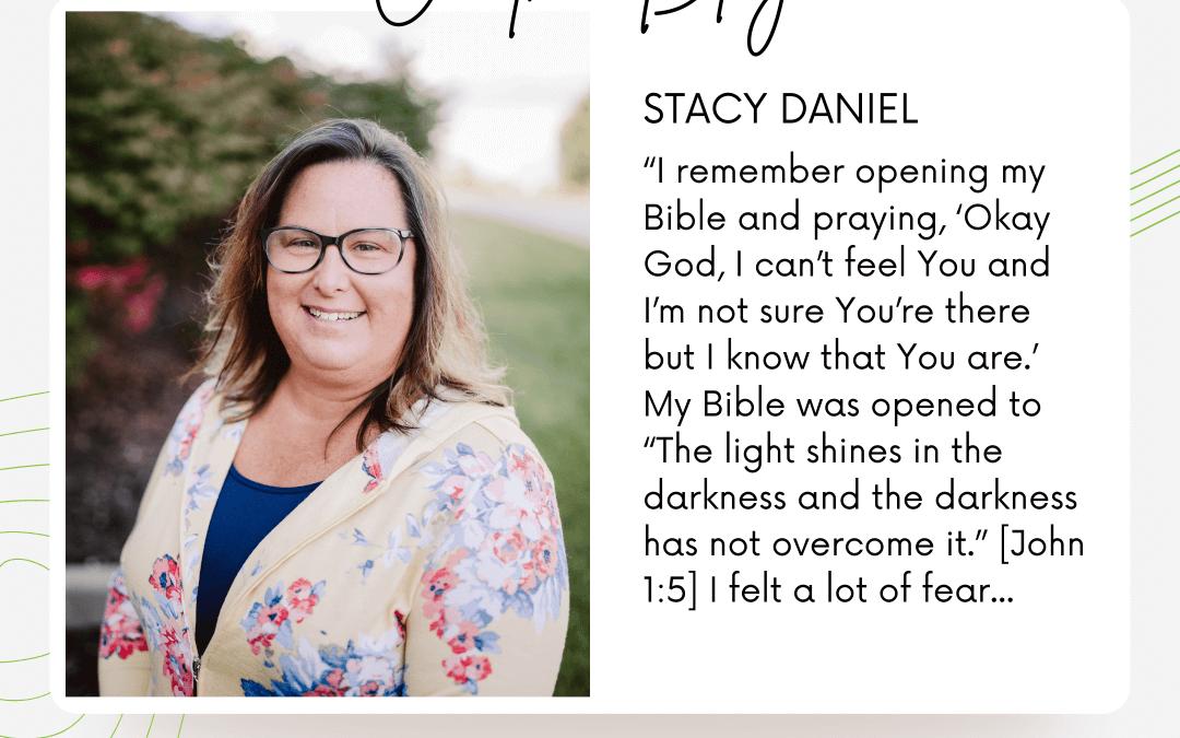 Finding Peace through Jesus| Stacy Daniel